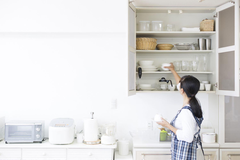 Limpiar el interior de los armarios