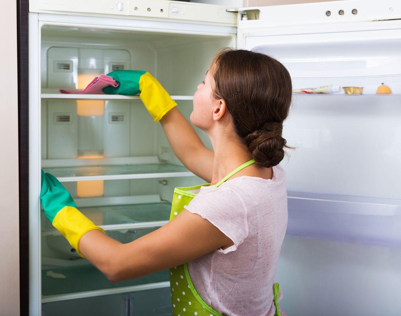 Limpiar el frigorífico