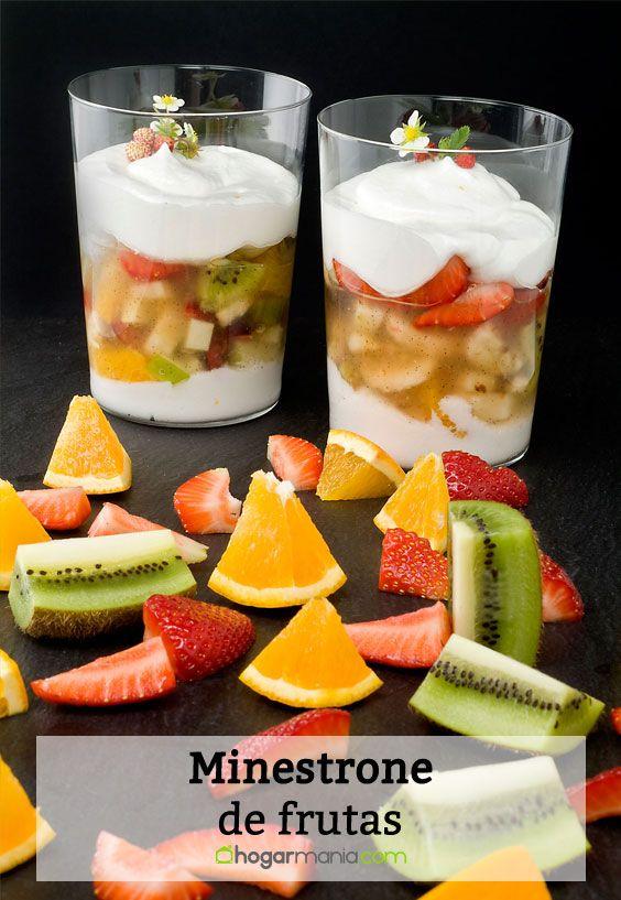 Minestrone de frutas
