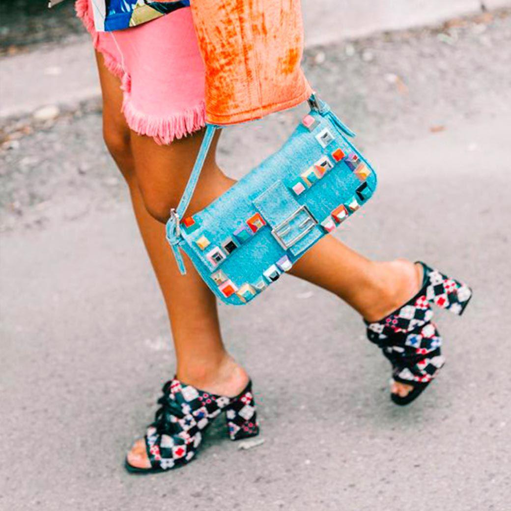 calzado verano estampados
