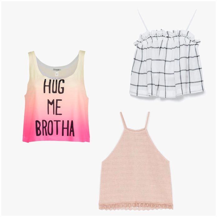 moda verano - crop top