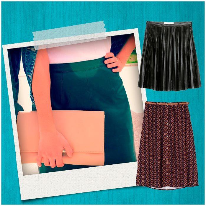 moda verano - faldas midi