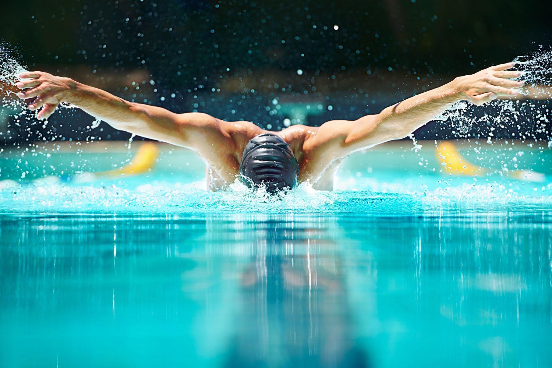 Nataci n estilos y problemas de espalda hogarmania for Planos de piletas de natacion