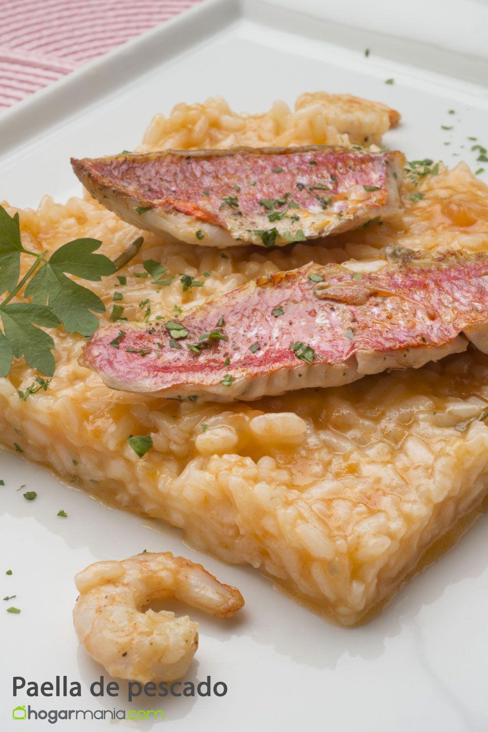 Receta de paella de pescado karlos argui ano - Paella de pescado ...