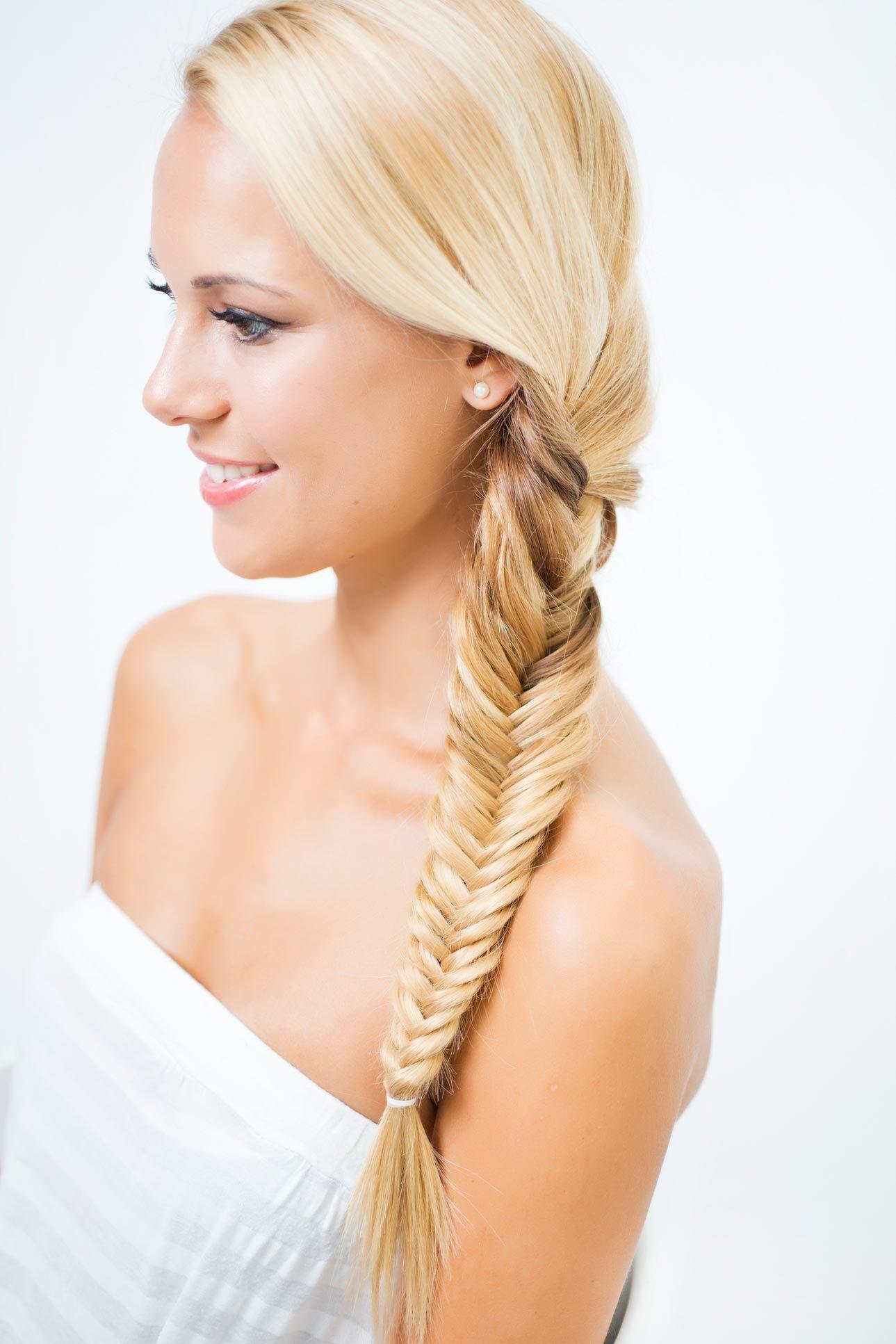 peinado trenza espiga - paso 4