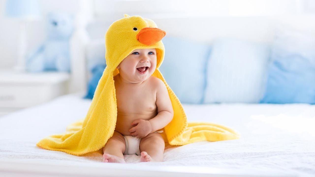 Secado del bebé