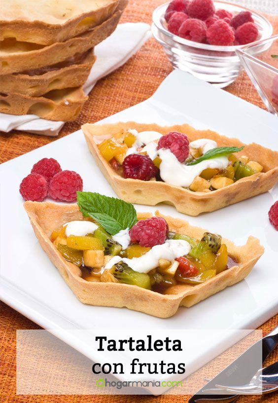 Tartaleta con frutas