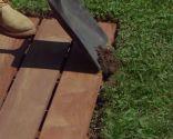 Cómo hacer una solera de exterior de madera
