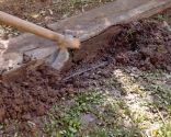 Reparar tubería enterrada en el jardín - Paso 2