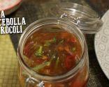 Sopa de cebolla y brócoli