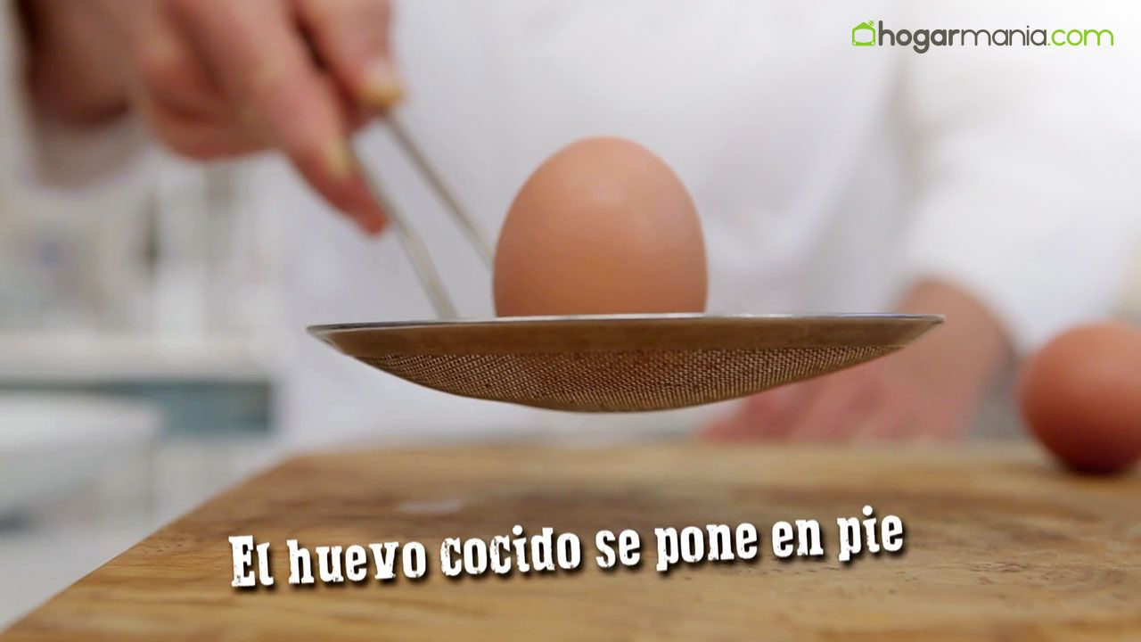 ¿Cómo saber si un huevo está cocido?