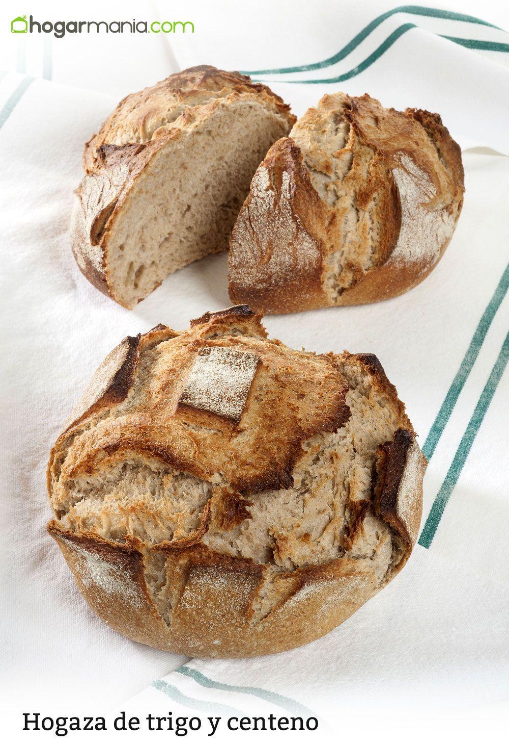 Hogaza de trigo y centeno