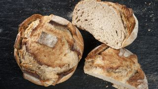 receta de pan de hogaza de trigo y centeno