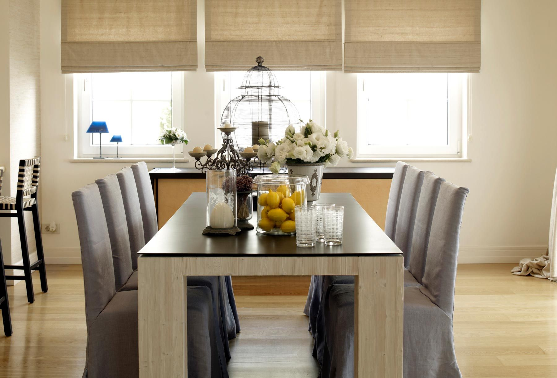 C mo elegir mesa de comedor hogarmania for Mesas redondas de cristal para comedor