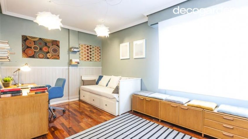 Decorar dormitorio para estudiante - Paredes