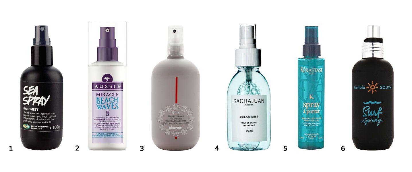Ejemplos spray de sal