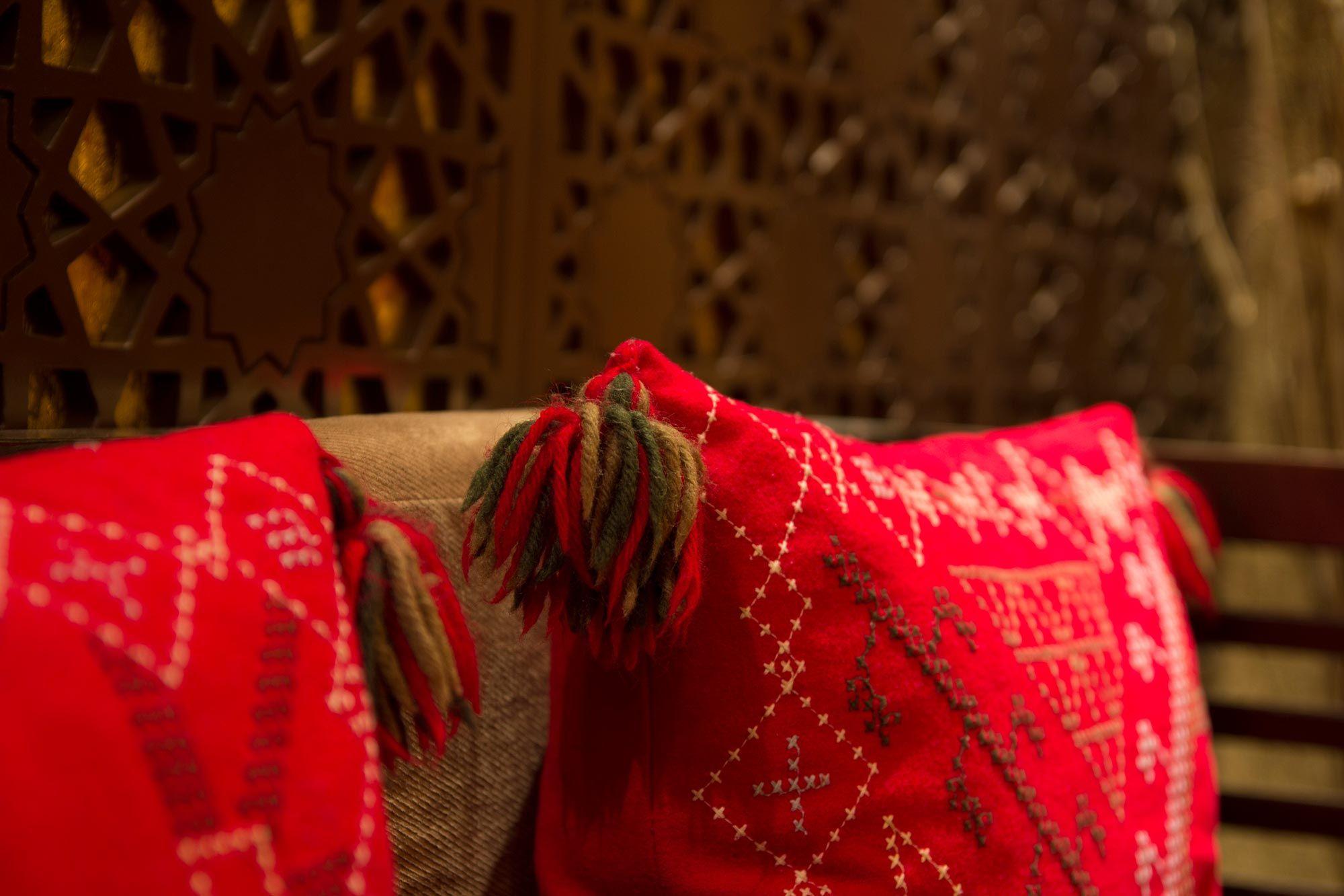 Estilo étnico en decoración