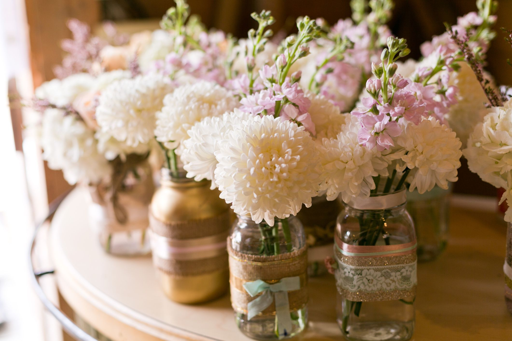 10 ideas para decorar una boda con flores Hogarmania