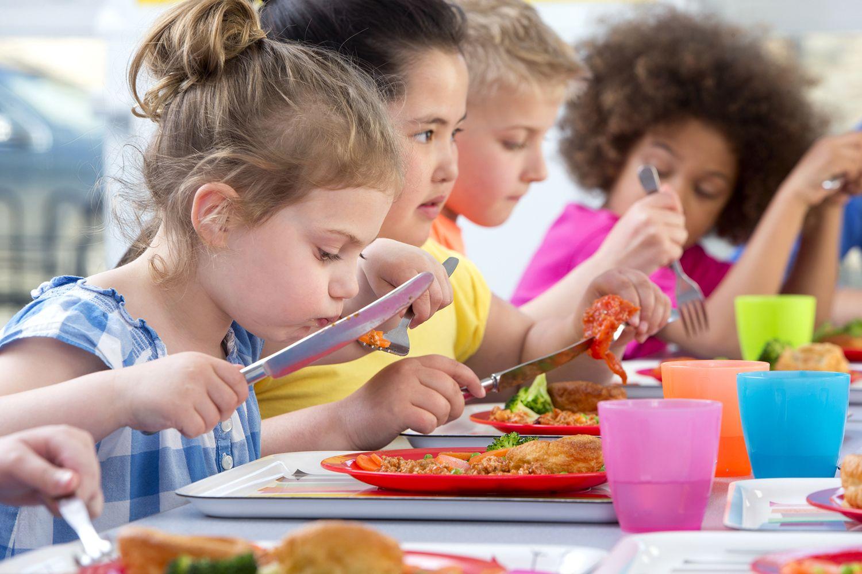 Comer en el colegio
