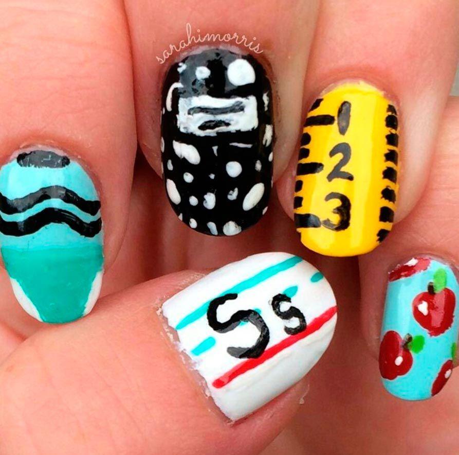 diseño uñas estudiantes 3