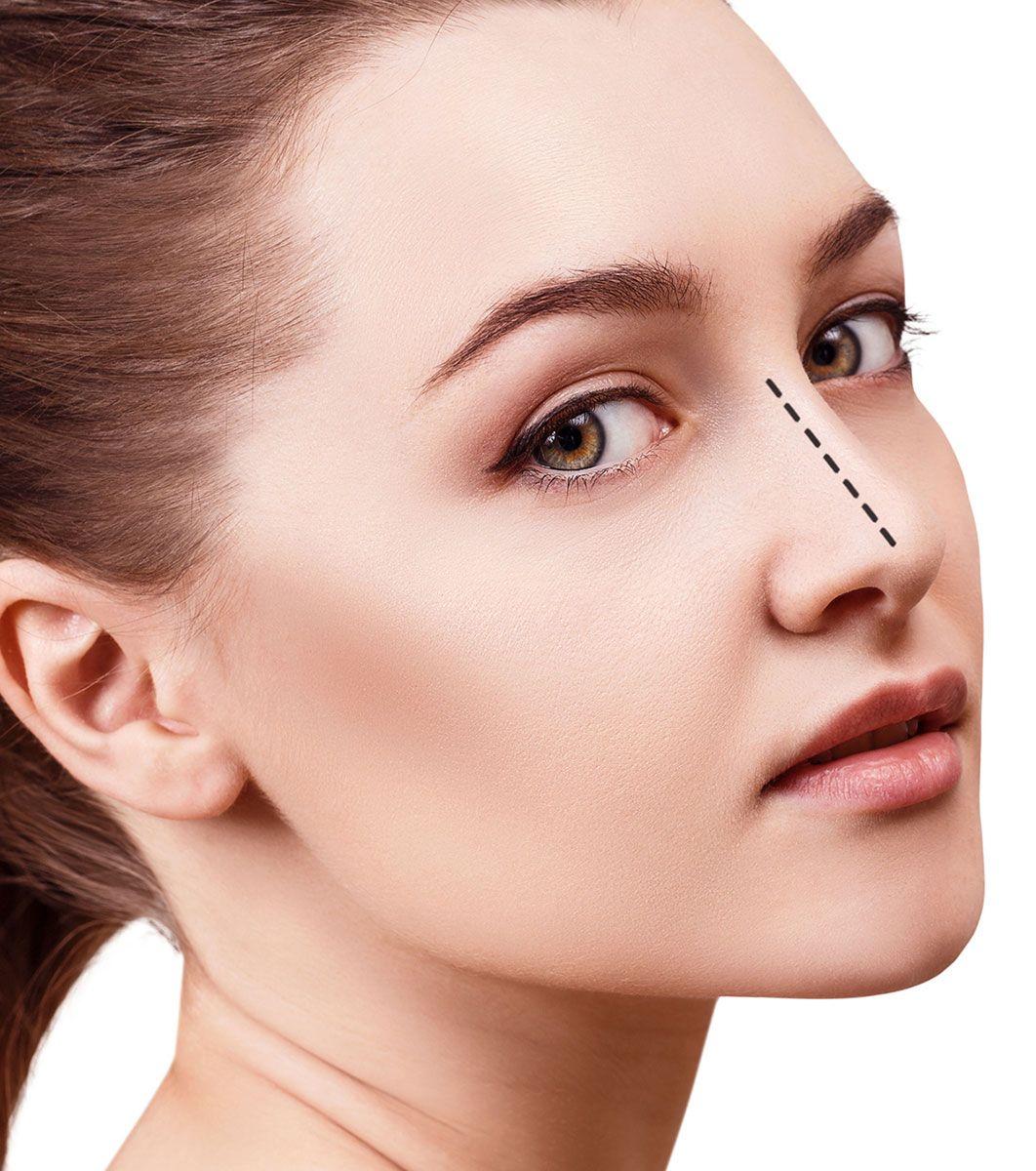 maquillaje disimular nariz