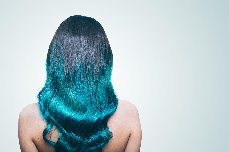 Pelo azul