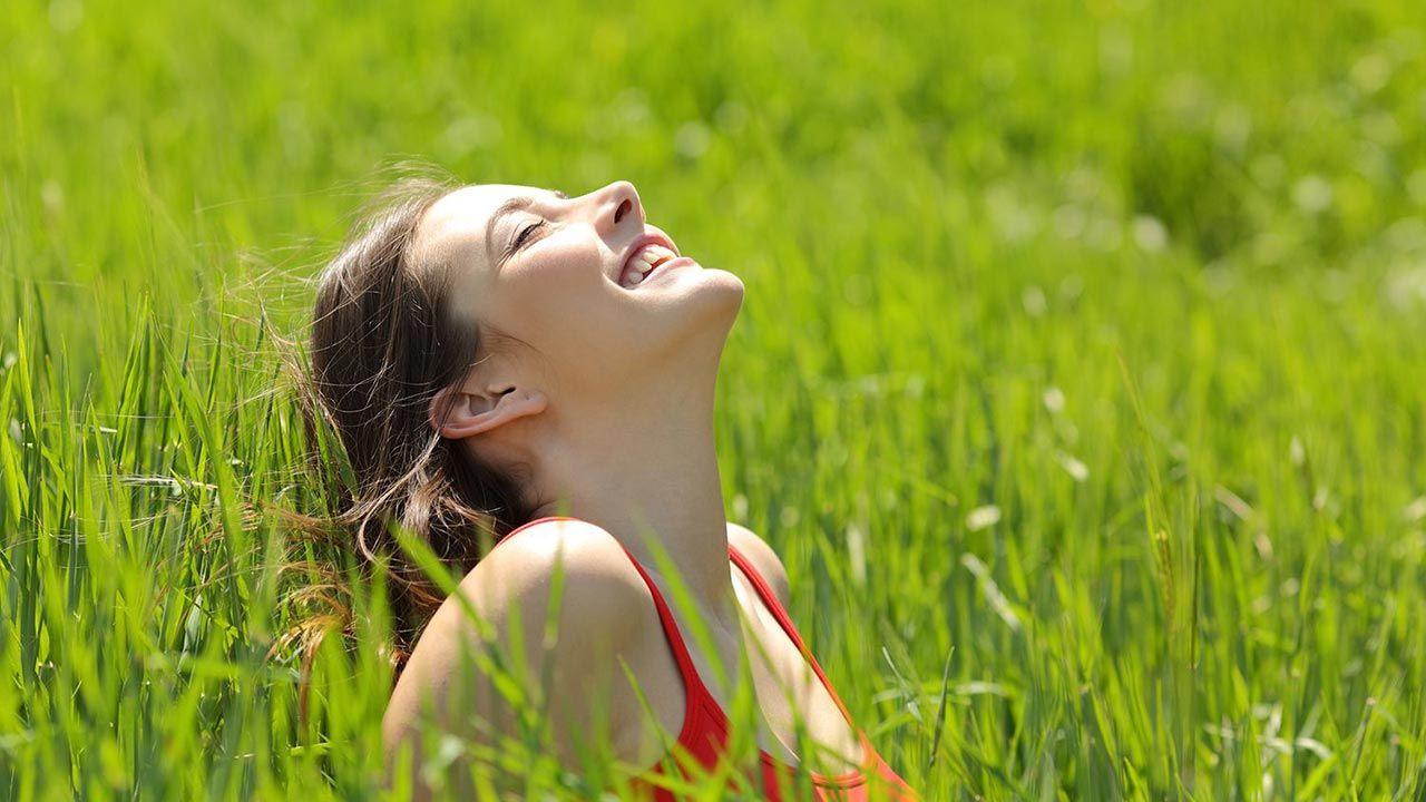 Respirar al aire libre