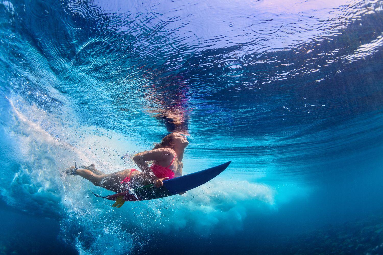 Postura de surf