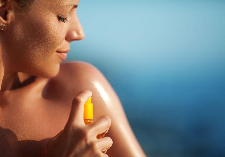 Aplicarse crema de sol