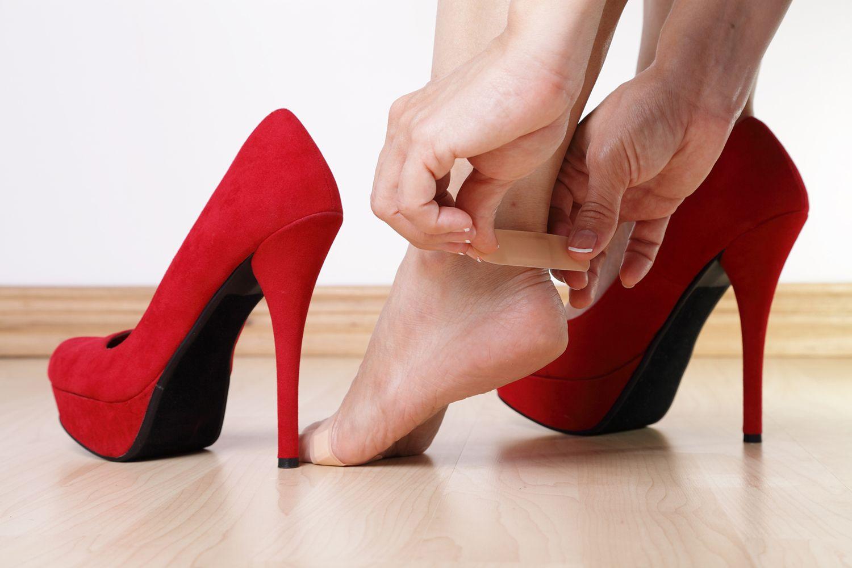 Tiritas zapatos
