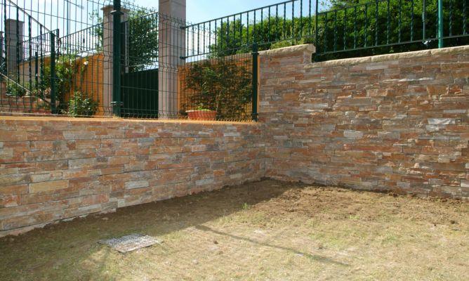 Piedra natural para exterior bricoman a - Revestimientos de paredes imitacion piedra ...