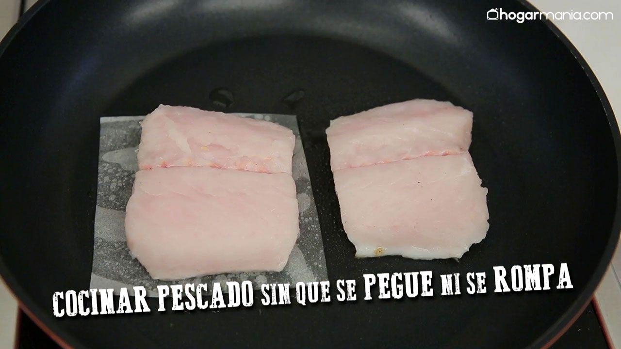 Papel de horno para cocinar pescado