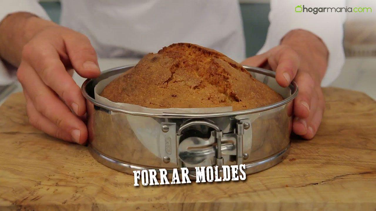 Papel de horno para forrar moldes