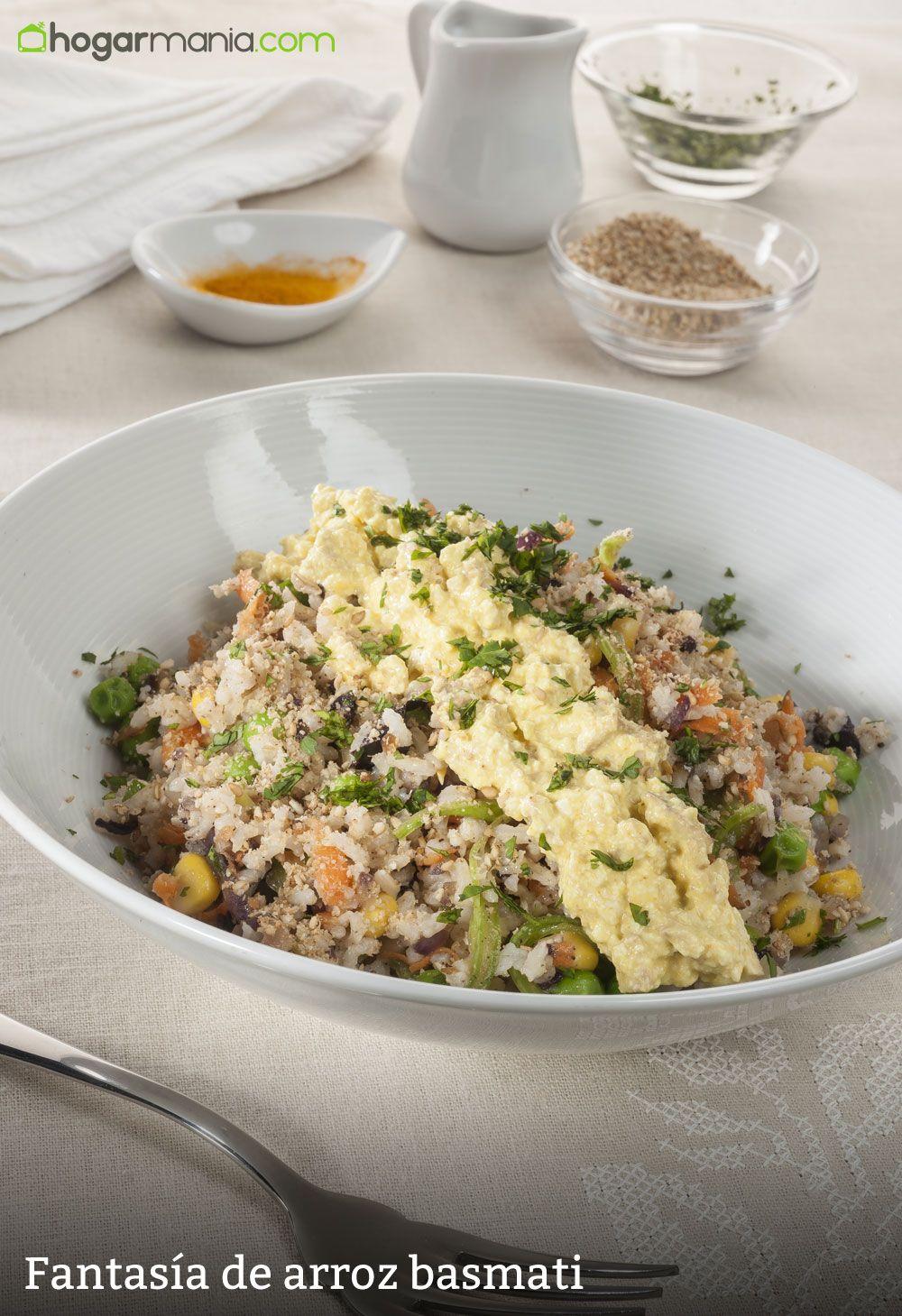 Fantasía de arroz basmati