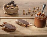Crema de chocolate, caramelo y avellana