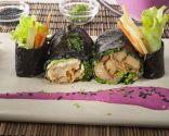 Macrobiótica: Rollitos de mochi y nori