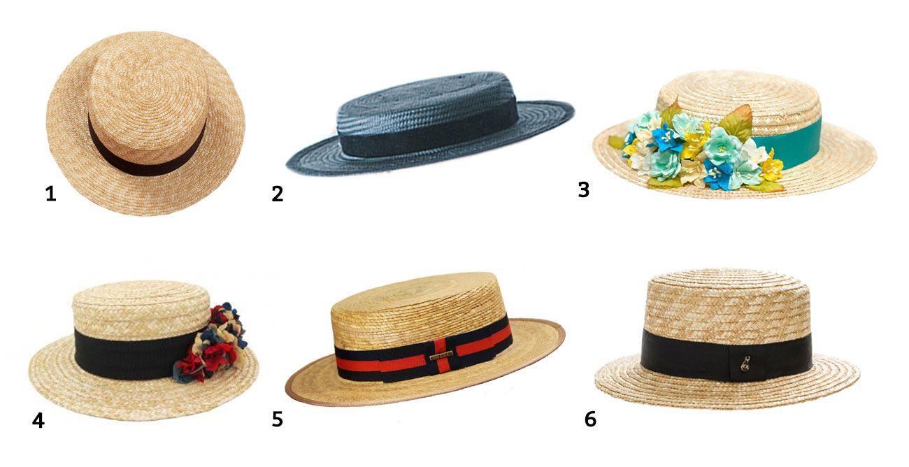 El sombrero del verano se llama canotier - Hogarmania