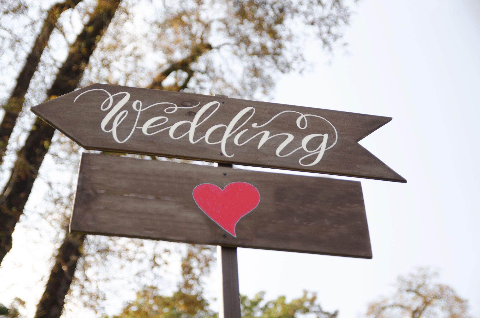 Carteles de bienvenida para decorar una boda