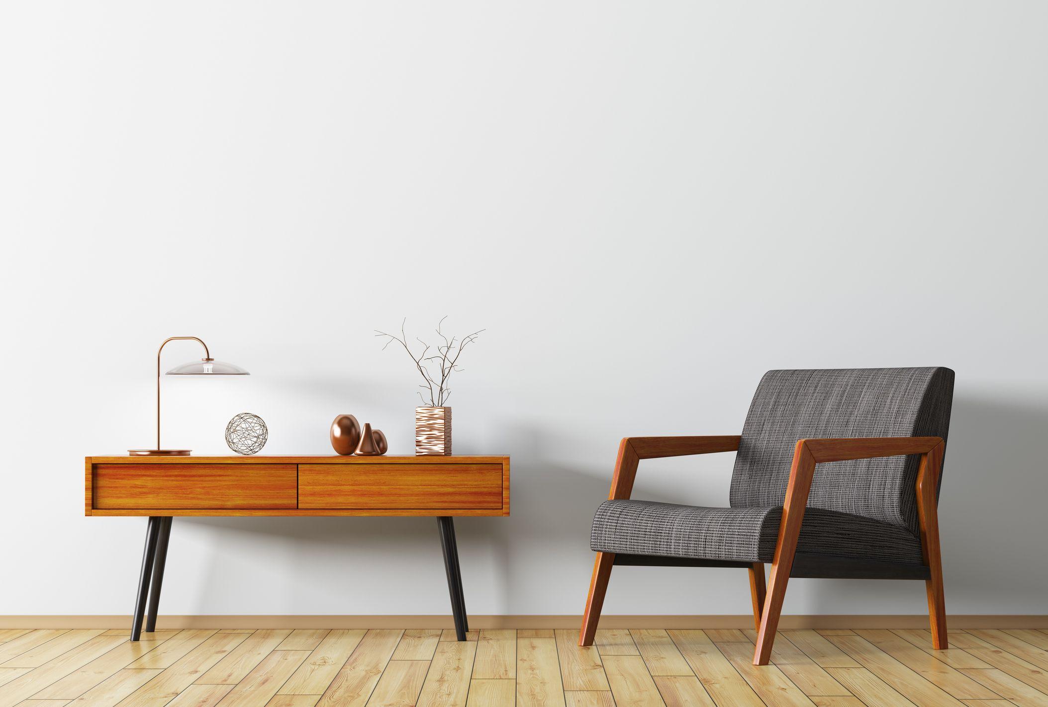 Muebles barnizados