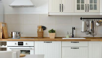 Decoración de cocinas de color blanco - Hogarmania