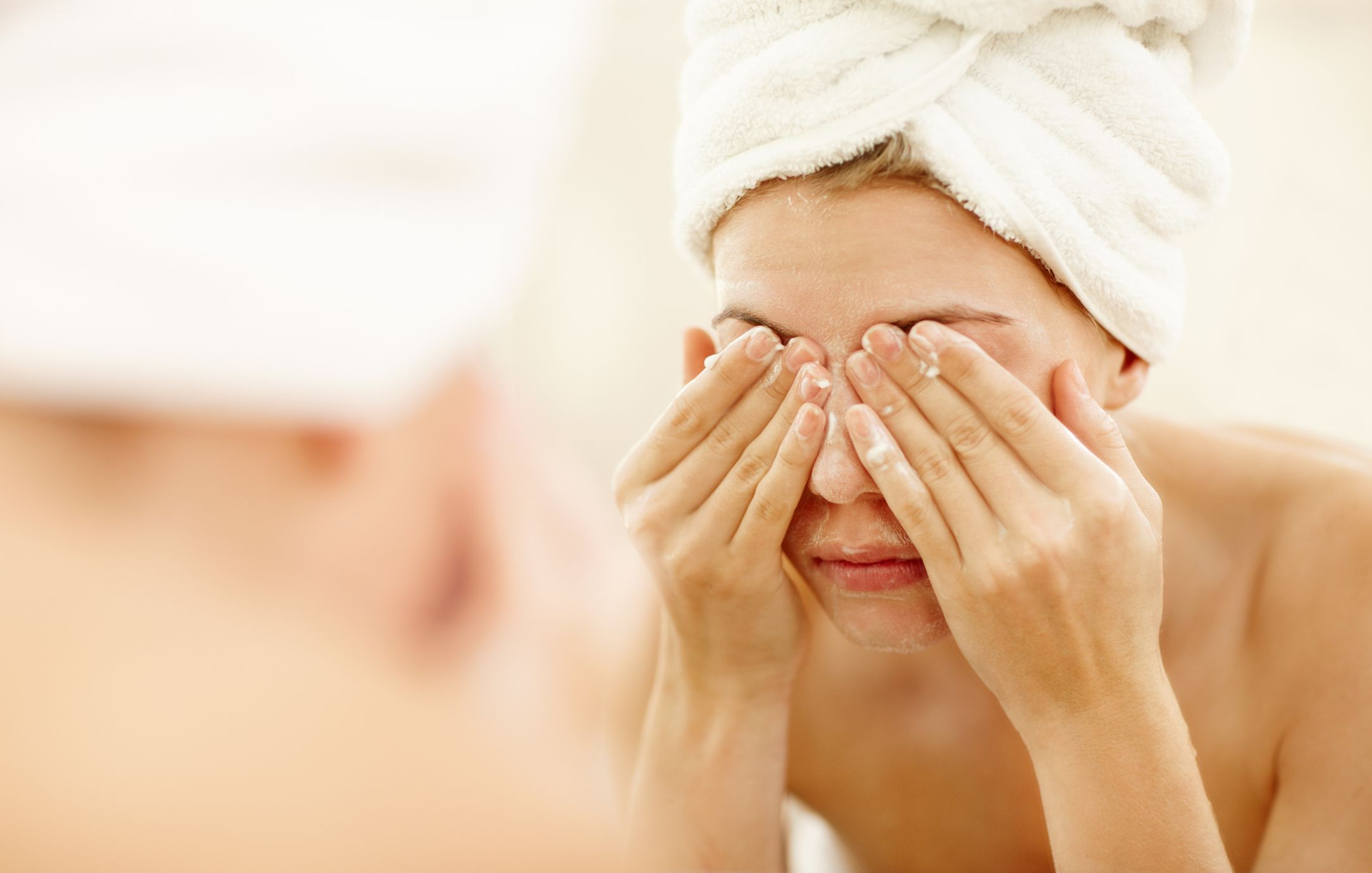 Limpiar la cara