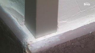 Colocación de cantoneras de aluminio