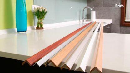 Perfiles de aluminio hogarmania for Esquineras de pared