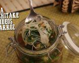 Sopa de shitake y fideos de arroz