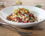 Superfoods: Ensalada de alubias rojas, maíz y semillas