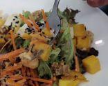 Ensalada de langostino y mango
