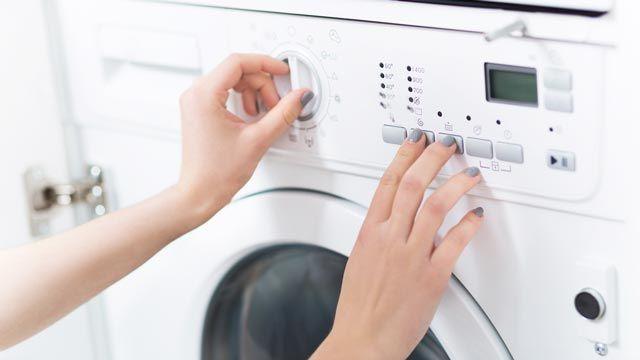programa adecuado de la lavadora
