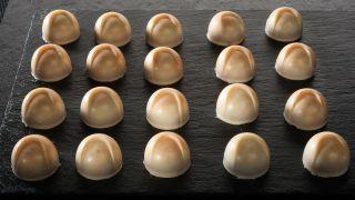 bombones de chocoalte blanco
