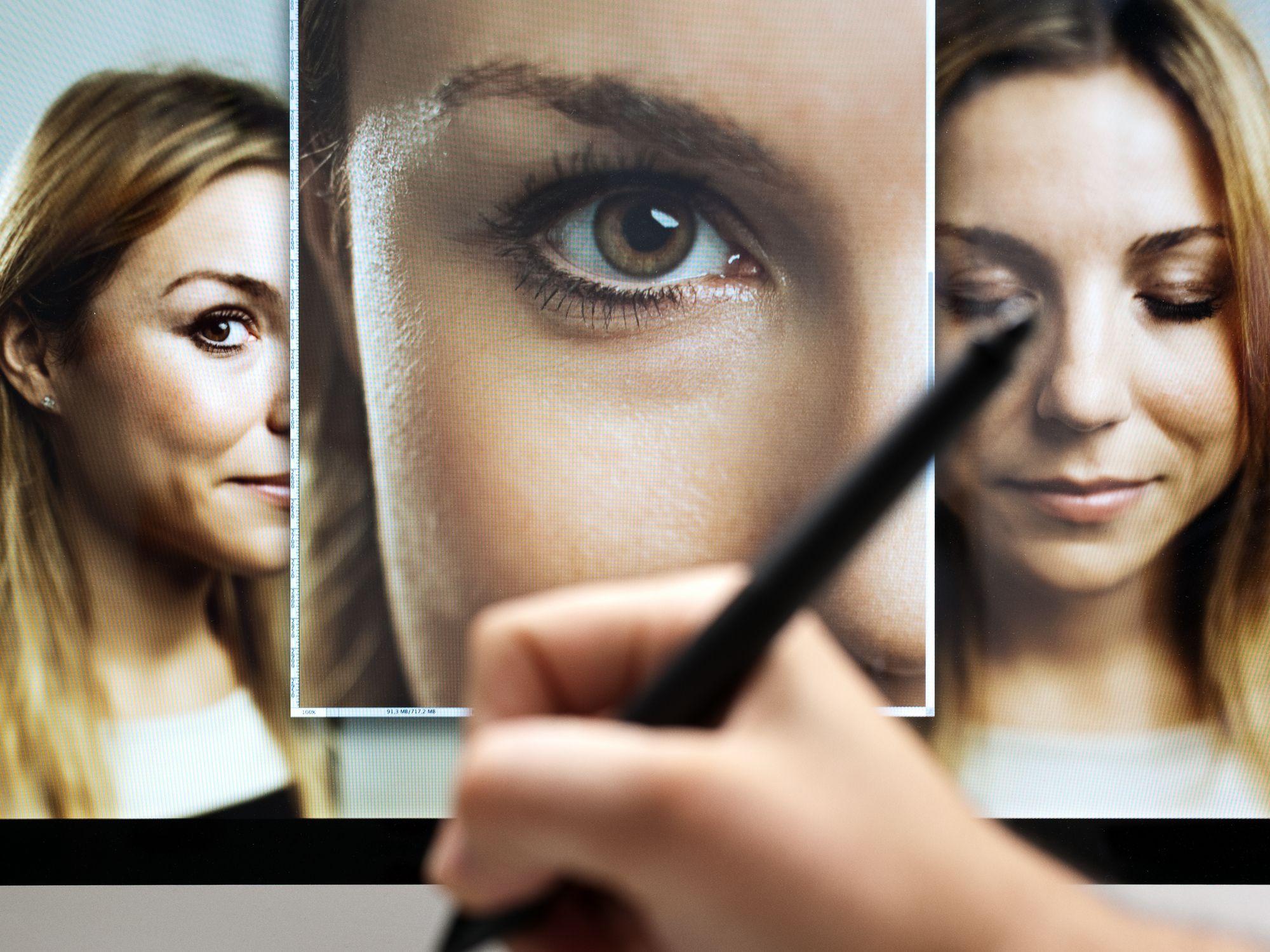 Maquillaje para una sesión de fotos