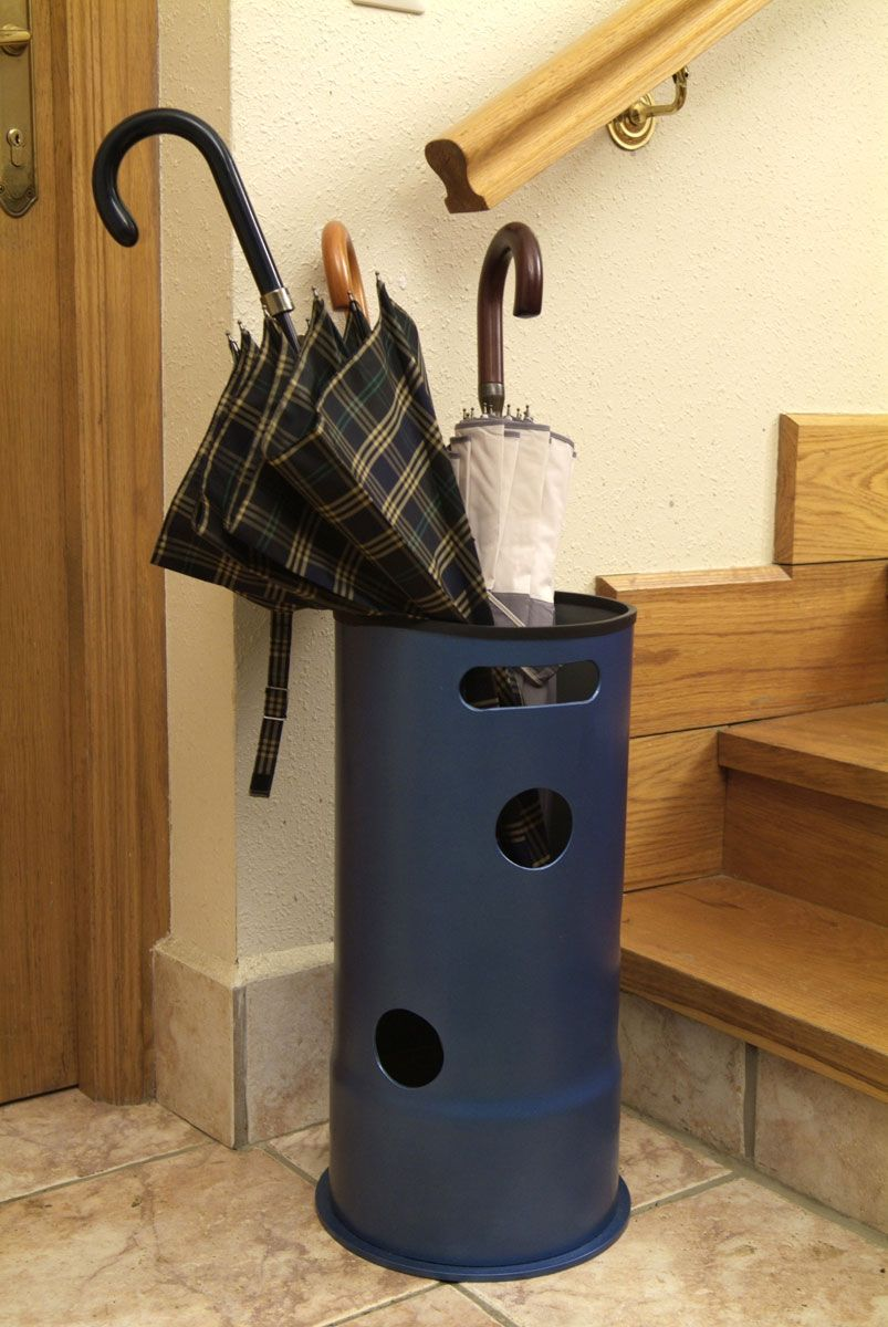 Ideas para reutilizar tubos de pvc - Paragüero